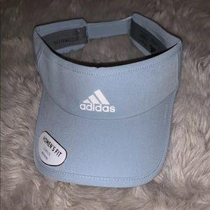 Adidas Women's Climalite Superlite Visor Gray New